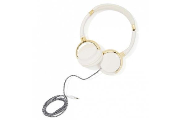 Skinny Dip london gold bar headphones, $40. nastygal.com.