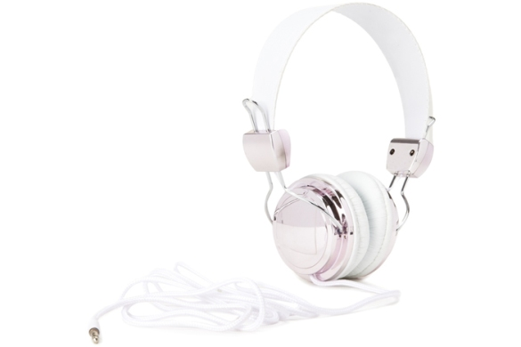 Forever 21 plated faux leather headphones, $13. forever21.com.