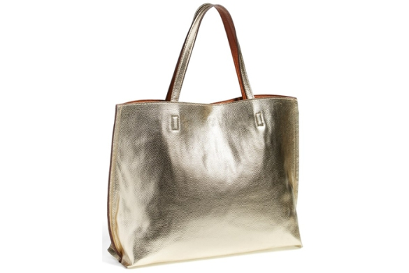 Street Level reversible faux leather tote, $48.shop.nordstrom.com.