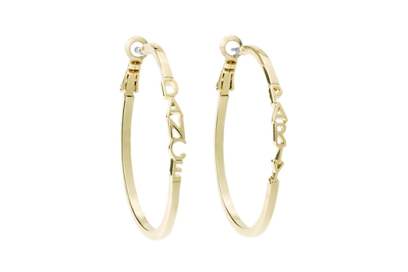 Kate Spade Saturday dance party earrings, $35. saturday.com.