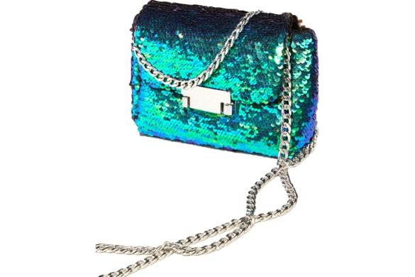 Topshop sequin cross body bag, $48.us.topshop.com.