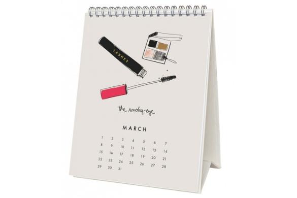Garance Doré 2015 beauté desk calendar, $16. catbirdnyc.com.