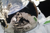 First selfie taken in space