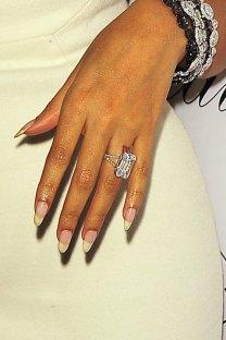 Beyoncé finger engagement tattoo