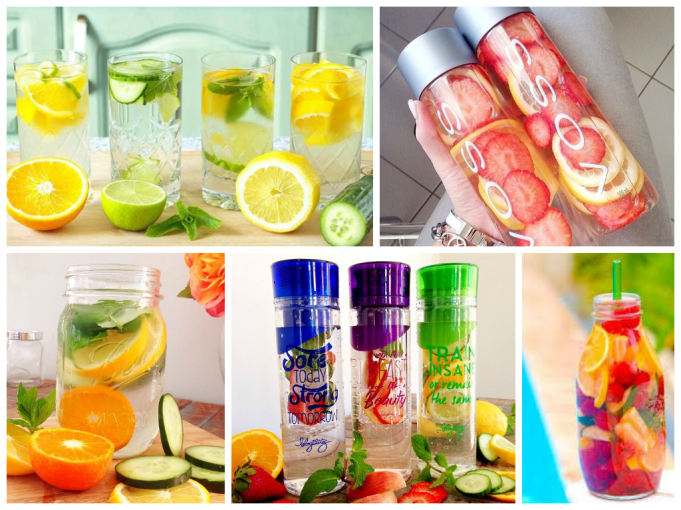 detox water recipe fruits