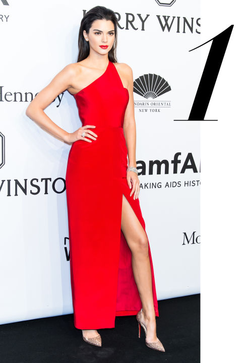 look of the day kendall jenner at amfar new york gala in Romona Keveza