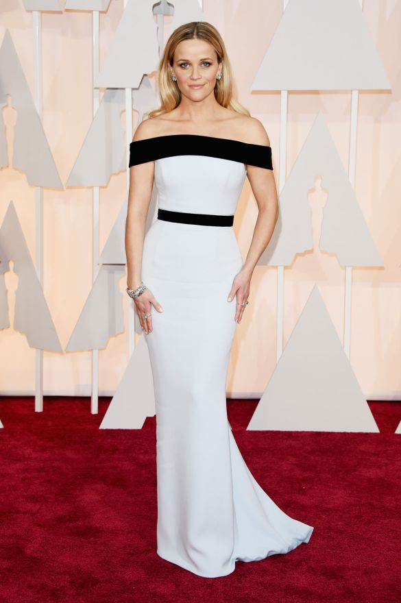 Reese Witherspoon in Tom Ford 2015 Oscars academy awards red carpet