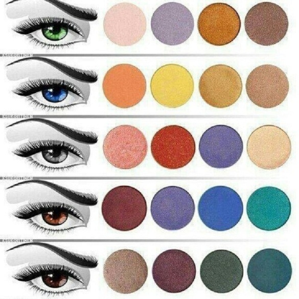 Find the right eyeshadow for your eye color rivals magazine usa