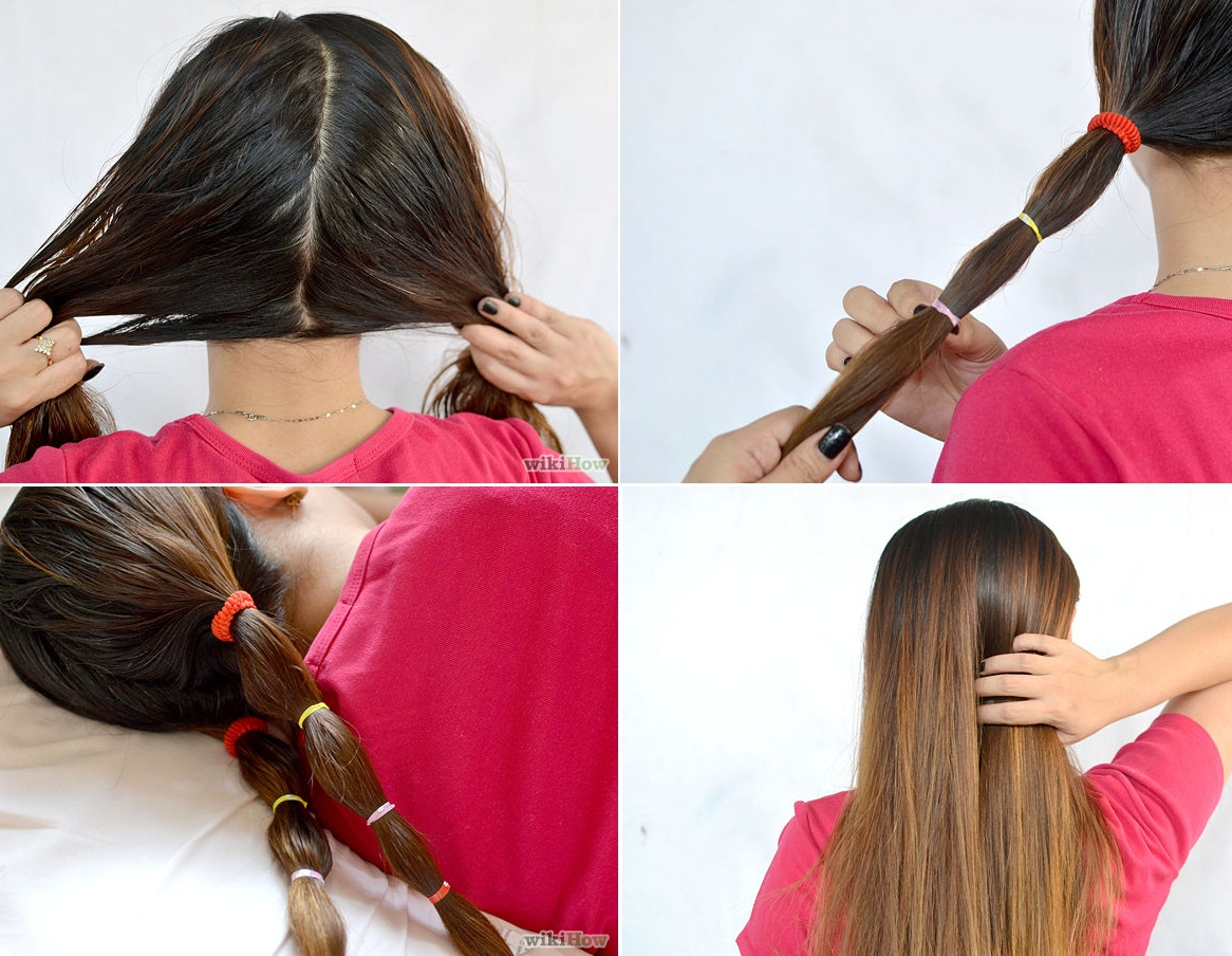 How to Straighten Your Hair Overnight