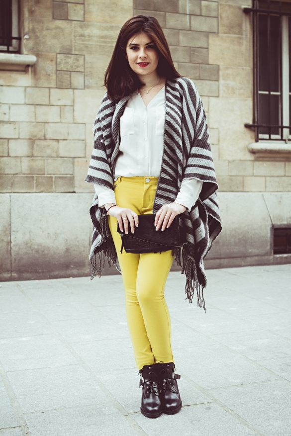 look of the day Insaf Bennis blogger sparkles in paris rivals magazine usa